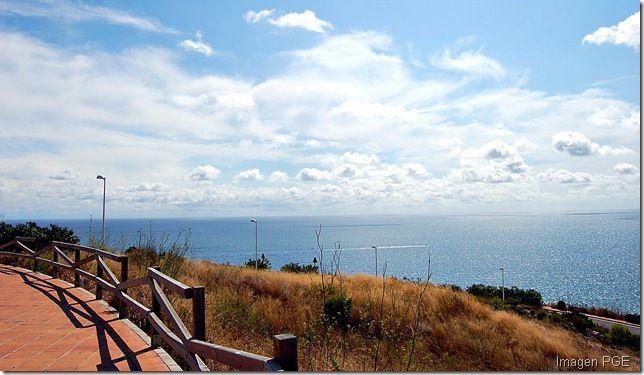 Mirador Sobre Vía Verde Benicassim Oropesa Rutas Benicasim Termas
