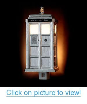 TARDIS Night Light Limited-Edition Chrome Version Home #Office #Lighting #Clocks