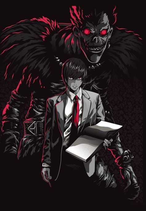 49 Ideas For Wall Paper Anime Death Note Lights