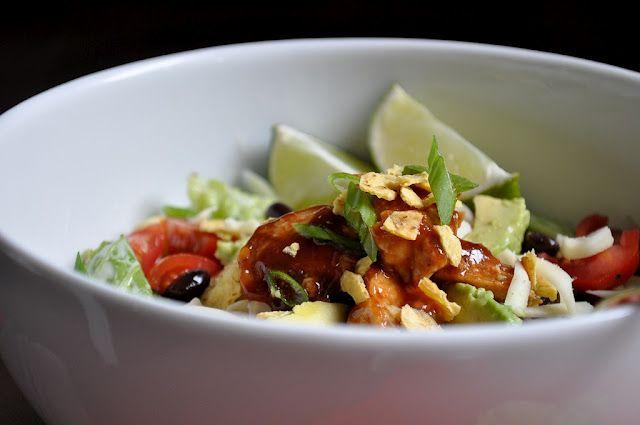 California Pizza's BBQ Chicken Salad - my favorite salad in the world.