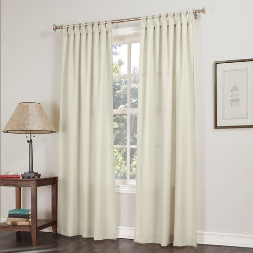 Lana Tab Top Single Curtain Panel | Gray bedroom, Front rooms and ...