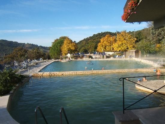 Hotel Posta Marcucci Bagno Vignoni Italy Great Morning Swim In