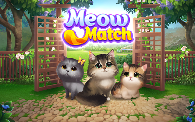 Free Game App Download Meow Match (With images) Cute