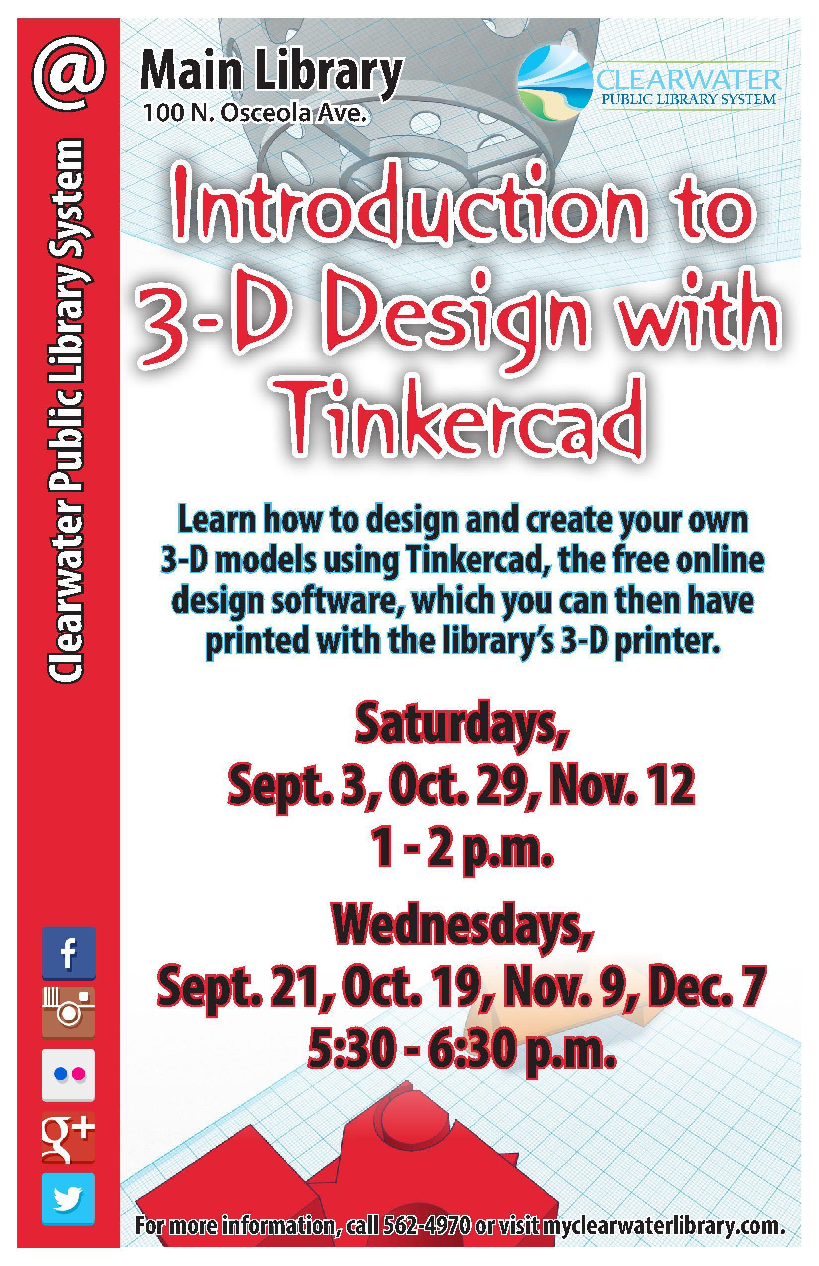 Learn how to design and create your own 3d models using