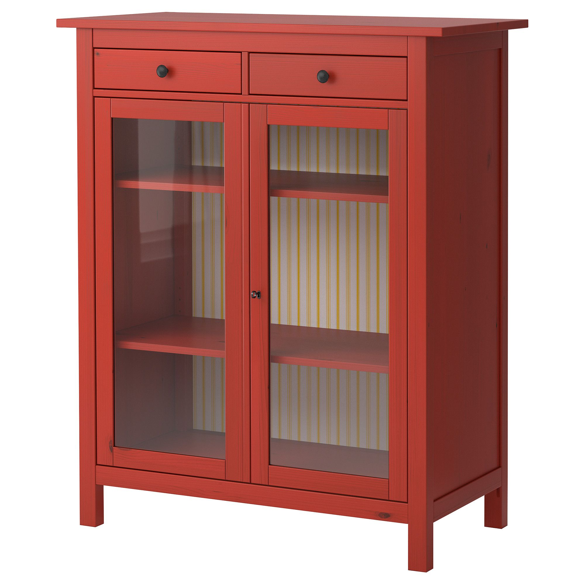Ikea bookcase with glass doors  HEMNES Linen cabinet  IKEA  Island Changes  Pinterest  Linen