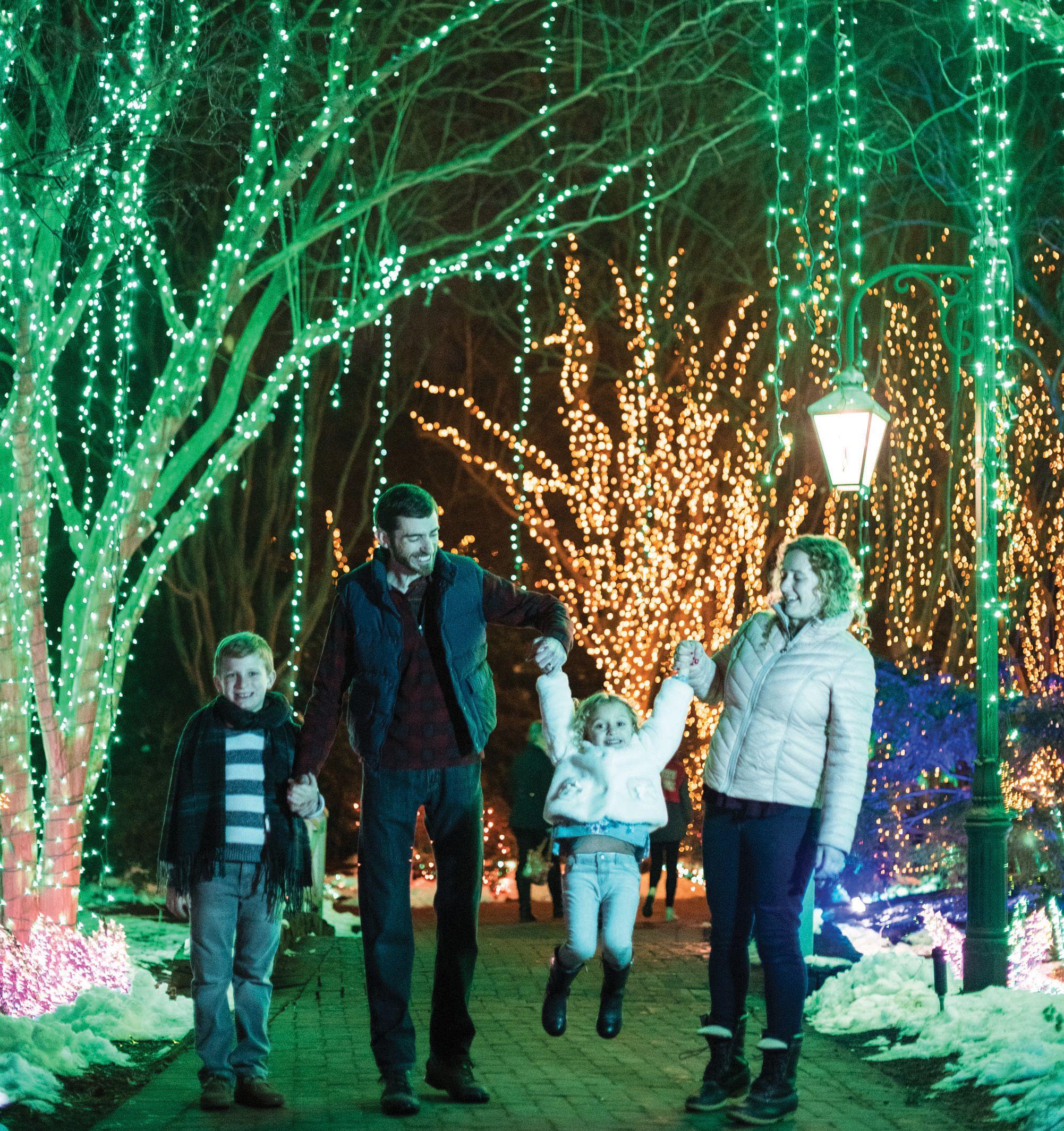 Dominion GardenFest of Lights at Botanical gardens