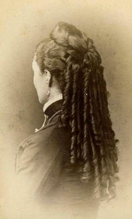Victorian Hairstyle Alexandrine Zola En 2018 Pinterest