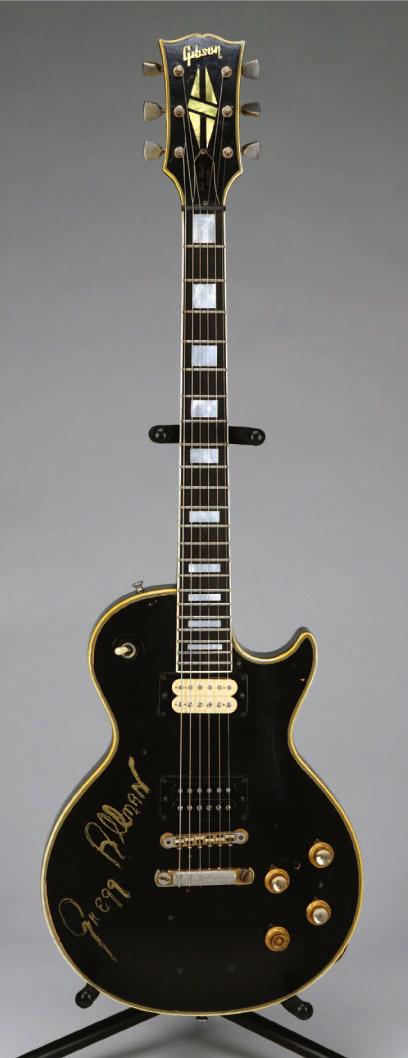 duane allman gregg allman 39 68 gibson les paul custom legendary les pauls guitar famous. Black Bedroom Furniture Sets. Home Design Ideas