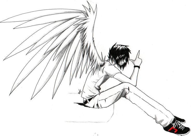 Anime Drawings Emo Anime Angel Boy Anime Love Couples Anime Wallpapers Hd Hd Anime Angel Anime Drawings Anime Art Fantasy