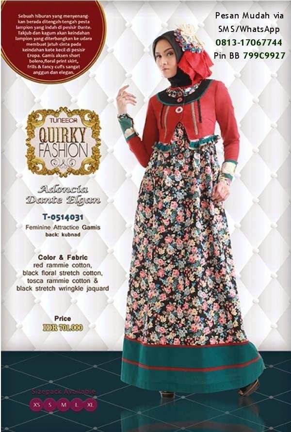 Katalog Tuneeca Quirky Fashion 2014 Cantik Berbaju Muslim Dress