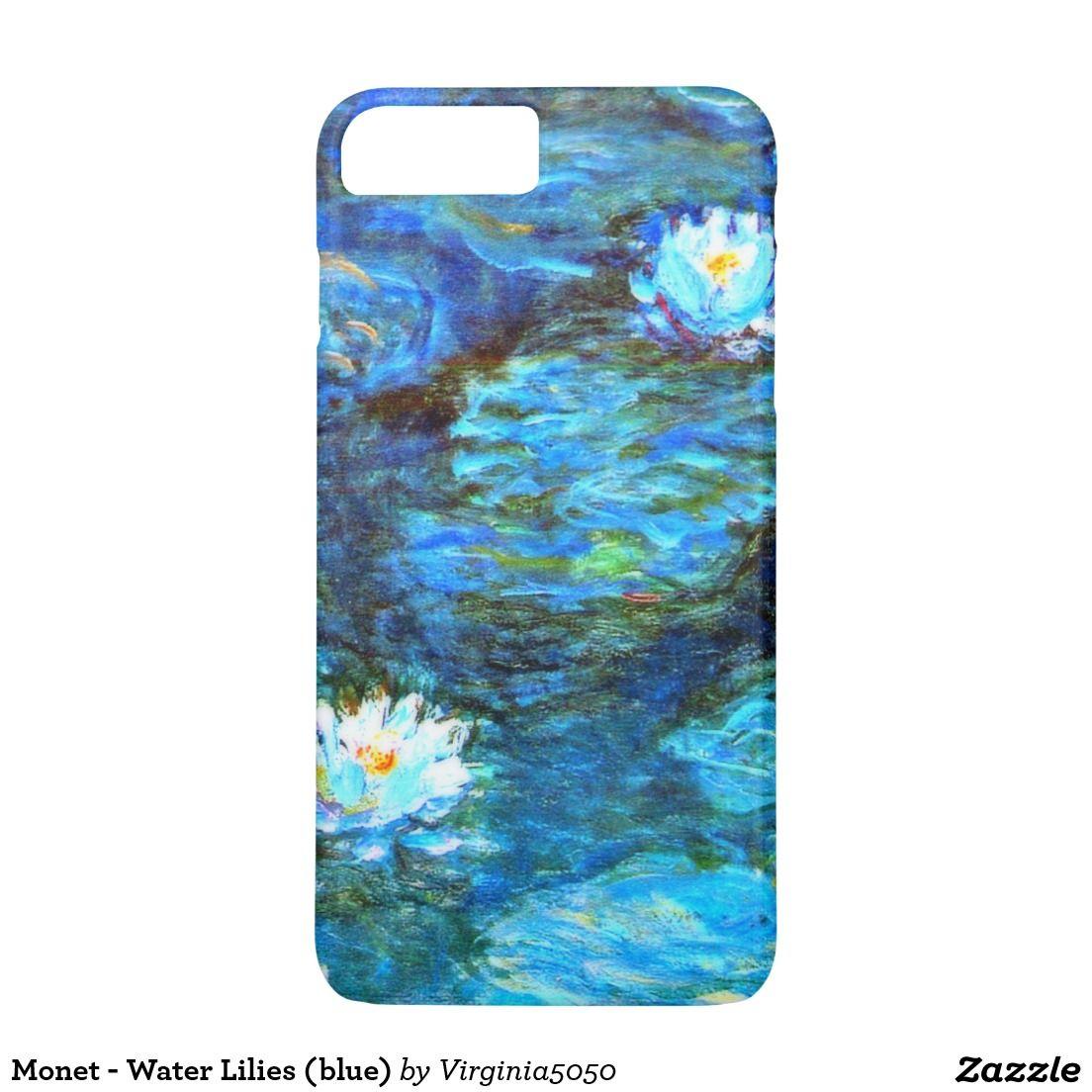 new arrival 7433e 2f193 Monet - Water Lilies (blue) Case-Mate iPhone Case | Zazzle.com ...