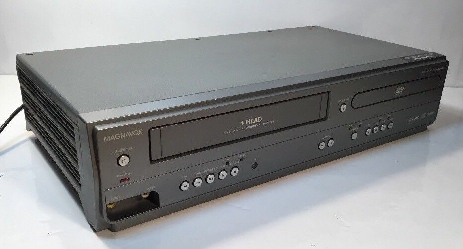 MAGNAVOX MWD2206A DVD VCR COMBO PLAYER VHS - TESTED