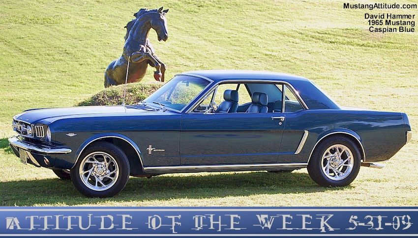 1965 Mustang Colors Caspian Blue 1965 Ford Mustang