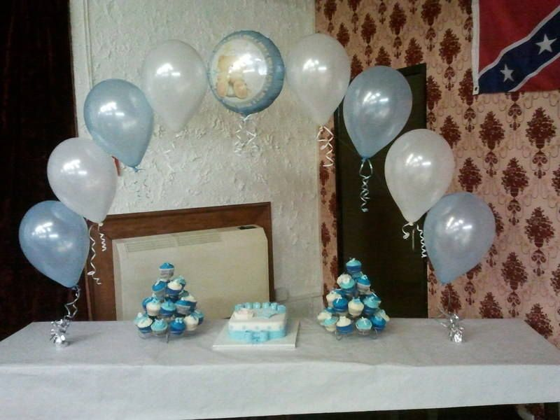 Baptism balloons christening cake balloons baptism for Balloon decoration ideas for christening