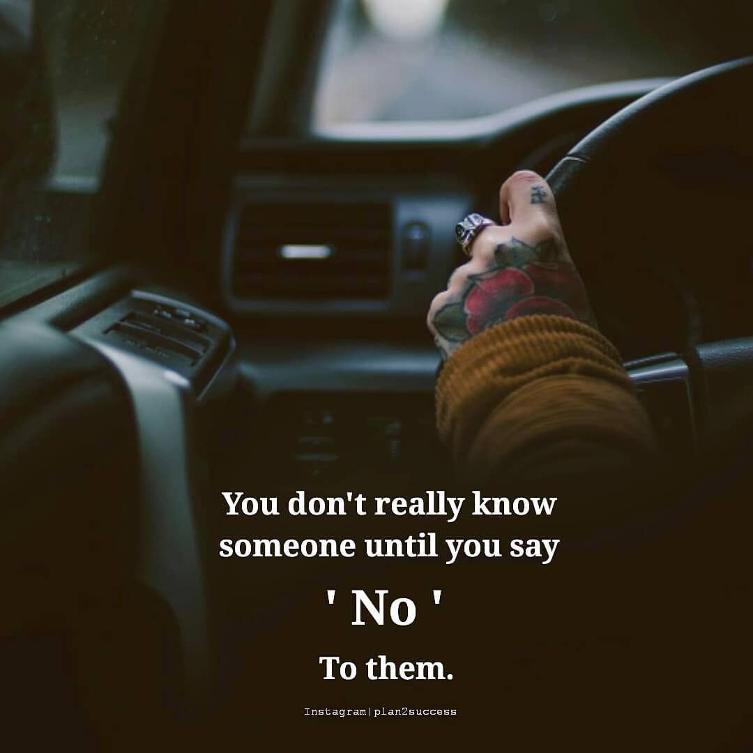 Ti kurr më të vërtet nuk e njeh dikë deri në momentin që