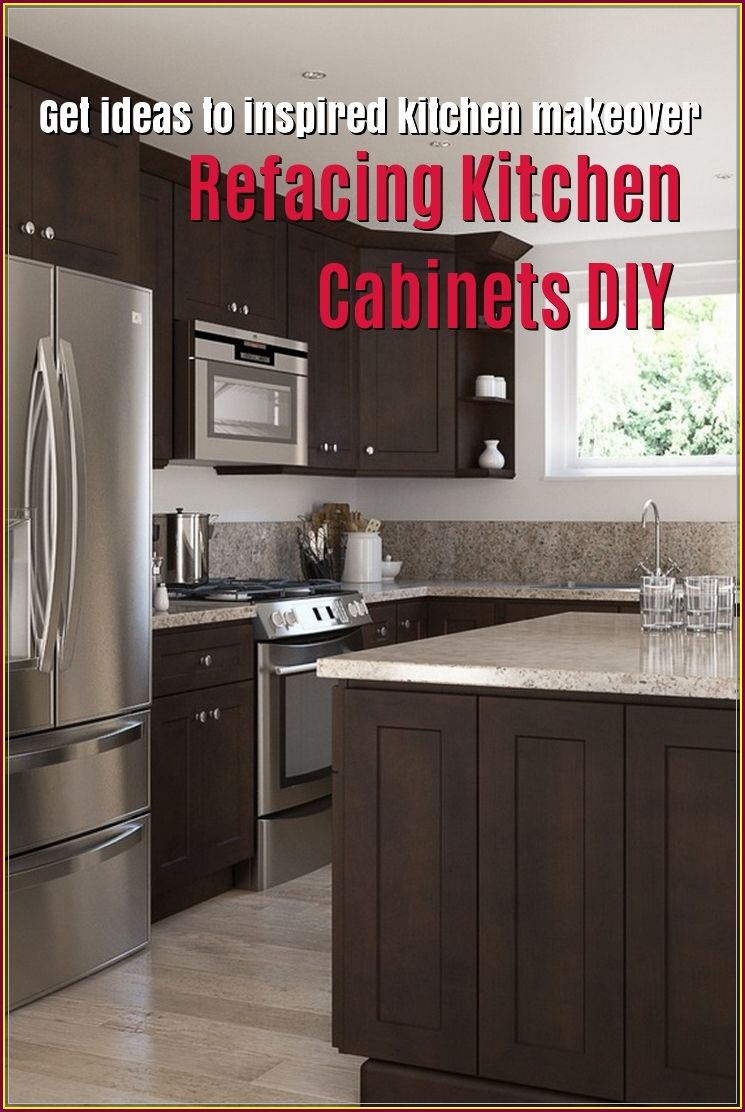 Refacing Kitchen Cabinets Diy To Change A New Look With Images