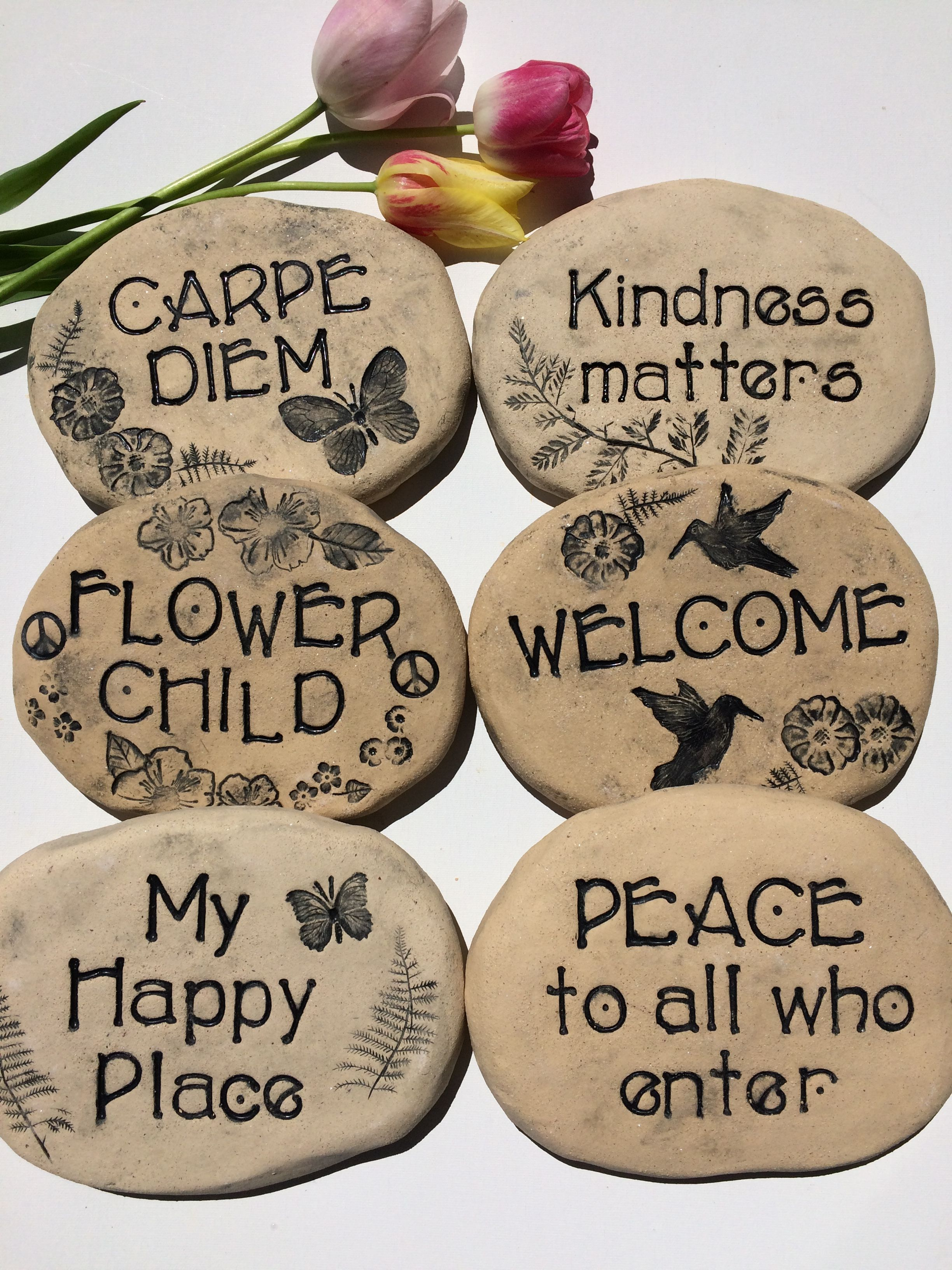 Pin by Poemstones on Inspirational Poem Stones for the garden ...
