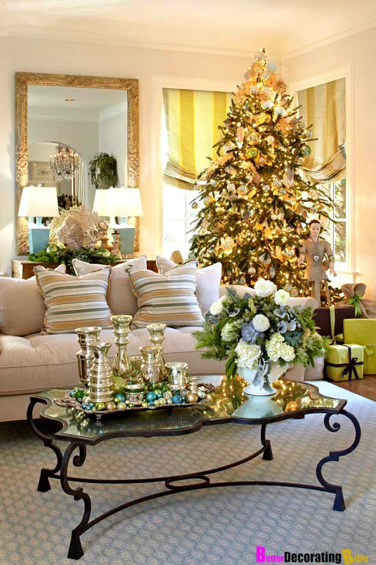traditional home decorating traditional home decorating your home for christmas easy ideas tree - Decorating Your Home For Christmas