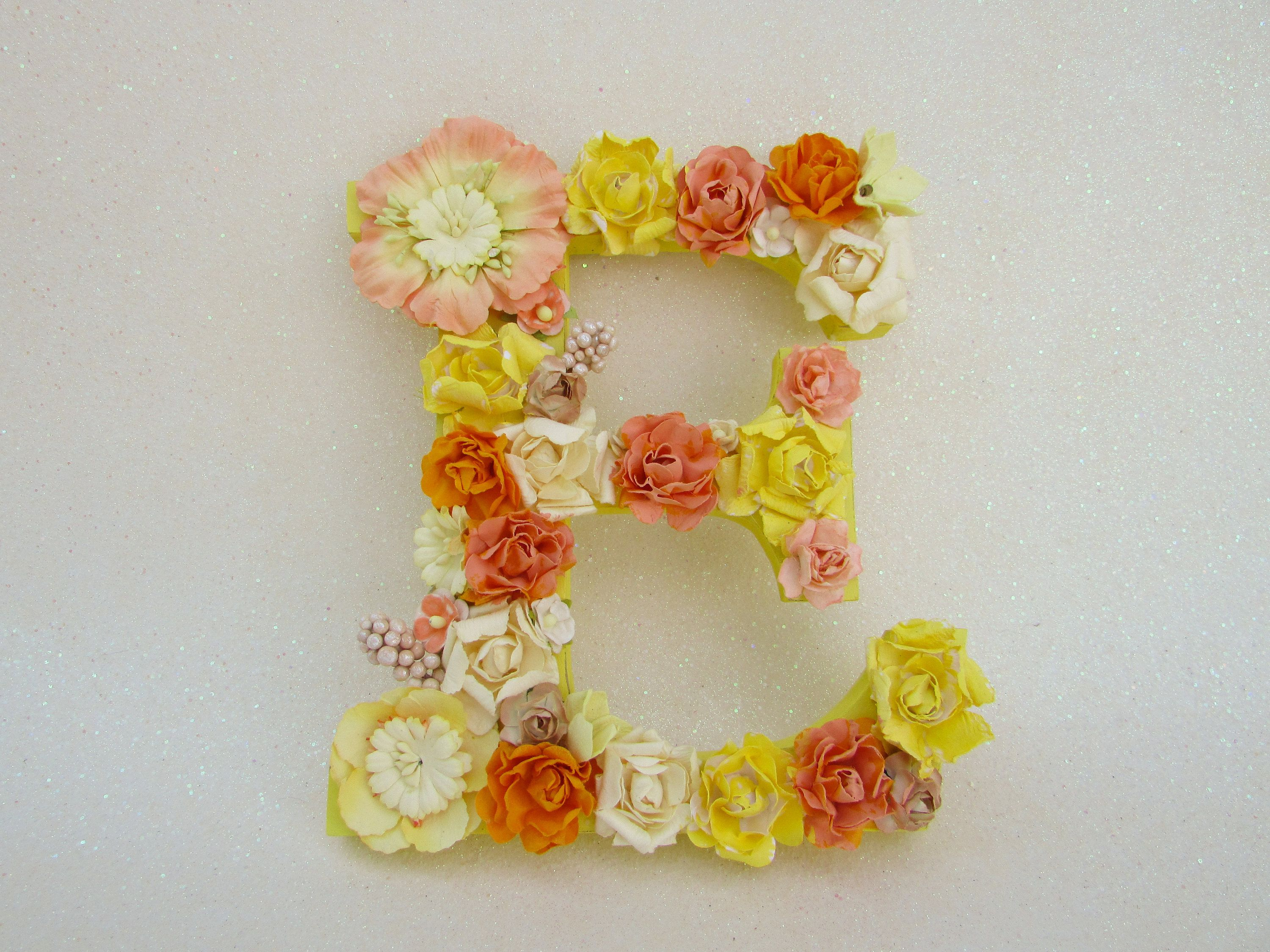 Flower Name Letter Flower Letter E Yellow And Orange Flower