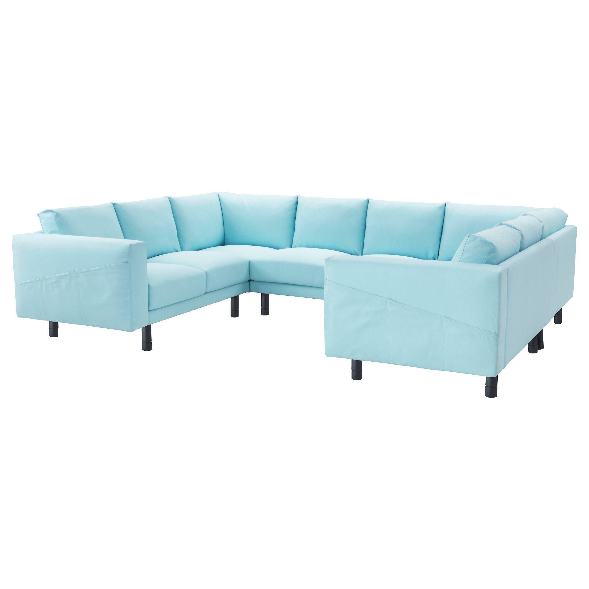 Bezaubernd Couch Hellblau Das Beste Von Norsborg, 8er-sofa, U-form, Edum Hellblau, Jetzt Bestellen