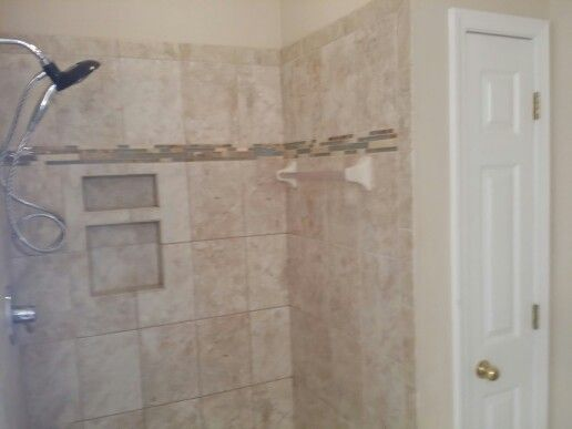 shower insert remodel with 9x13 field