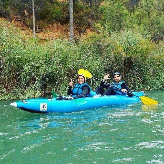 Turismo de aventura por agua