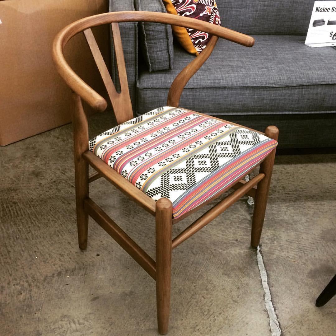 Jorge Alvarado On Instagram: U201cI Want That Chair! Donnan Wishbone Armchair  With Upholstered