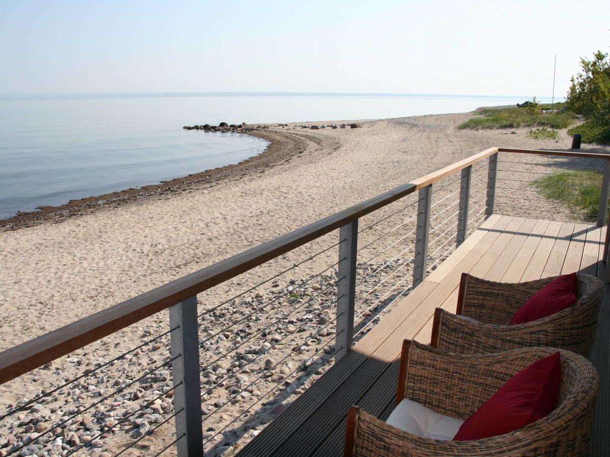 Veranda Ostsee Urlaub Ferienhaus Strandhauser Ferien