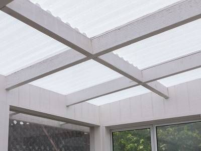 TUFTEX PolyCarb Translucent White roof | Tuftex | Roof panels