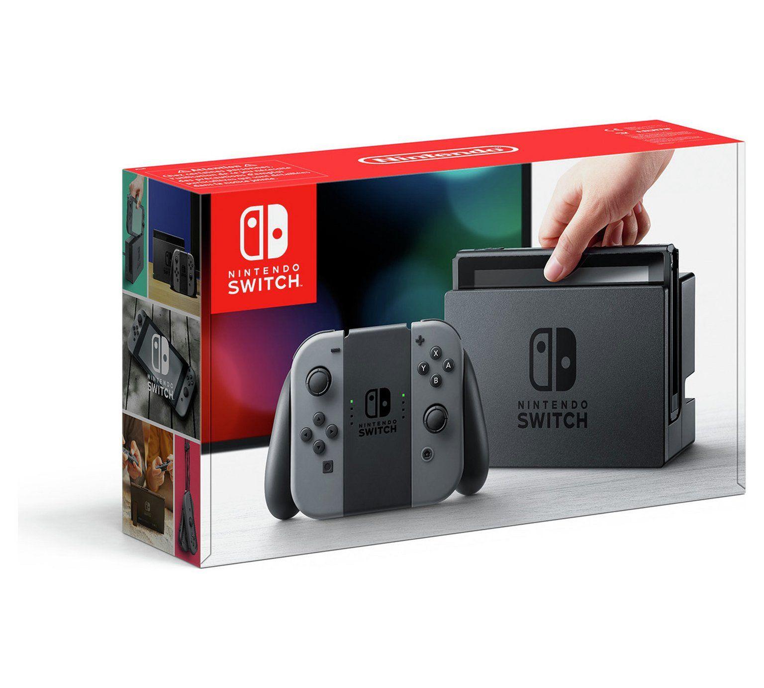 Nintendo Switch Console Grey At Argos Co Uk Visit Argos Co Uk