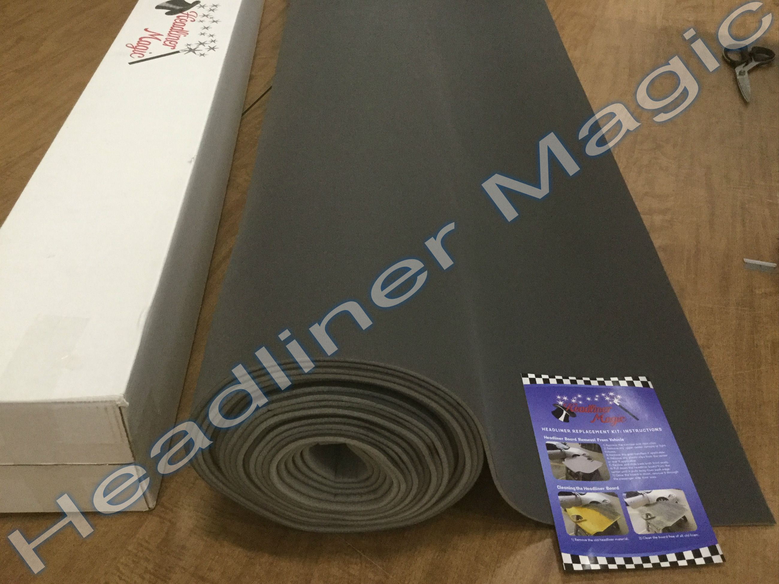 Speaker Box Carpet /& Trunk-Liner 4 Colors Silver Headliner Magic