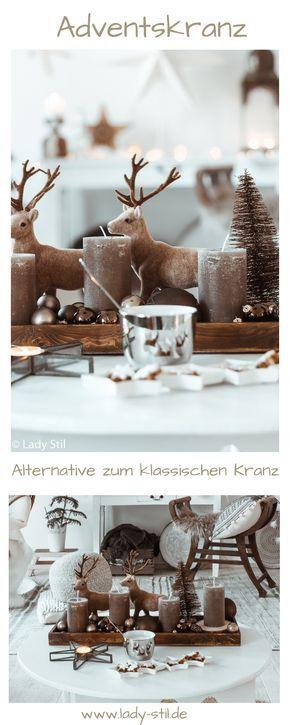 Adventskranz Alternative - lady-stil.de
