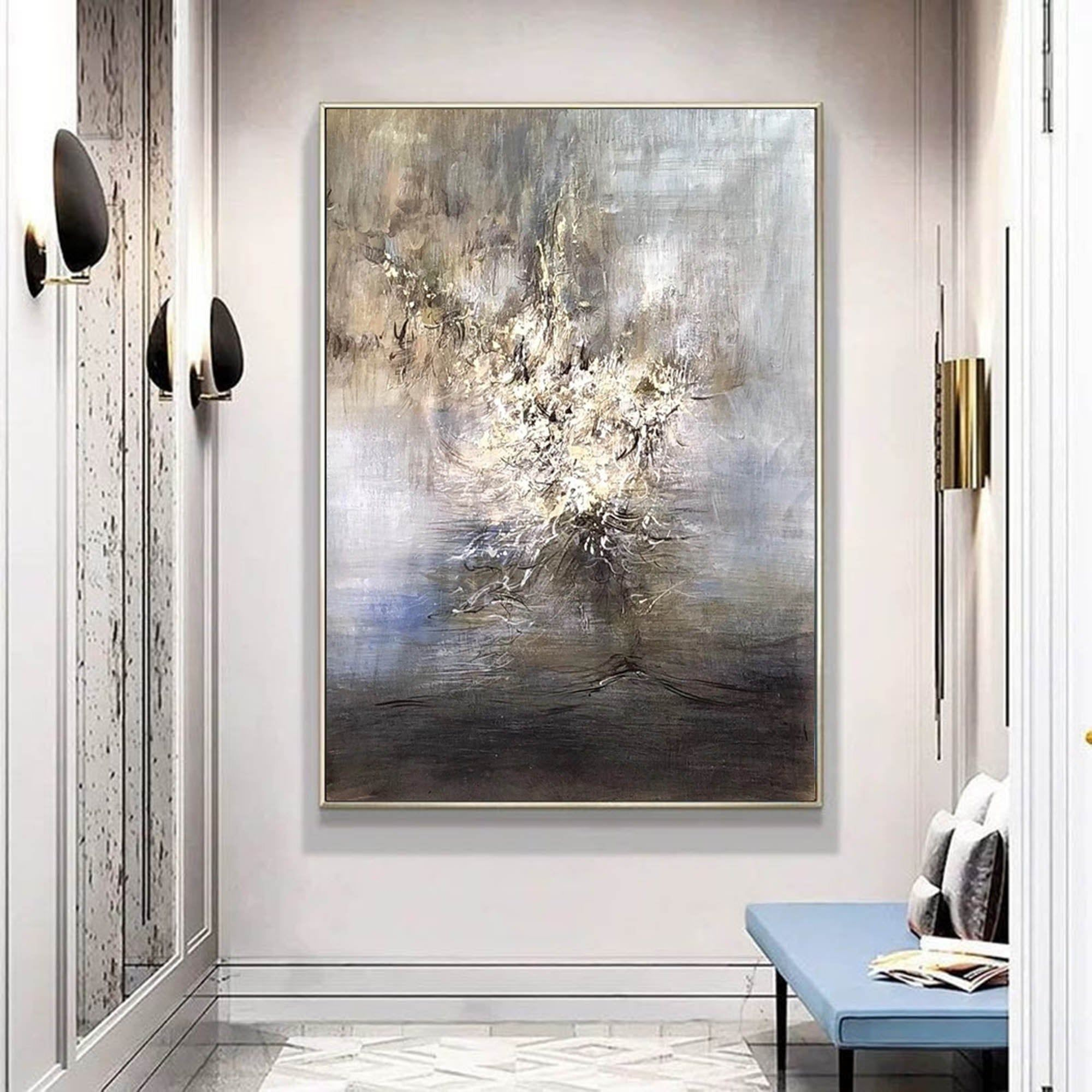 Extra Large Wall Art Abstract Large Oil Painting Original Canvas Textured Wall Art Abstract Moder Large Wall Art Large Canvas Wall Art Modern Abstract Painting