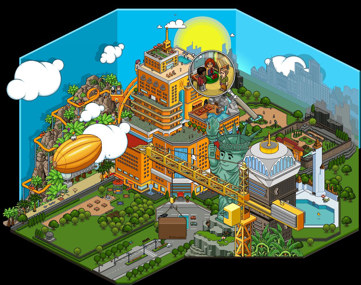 Habbo hotel | Pixel addicts | Game art, Pixel Art ...