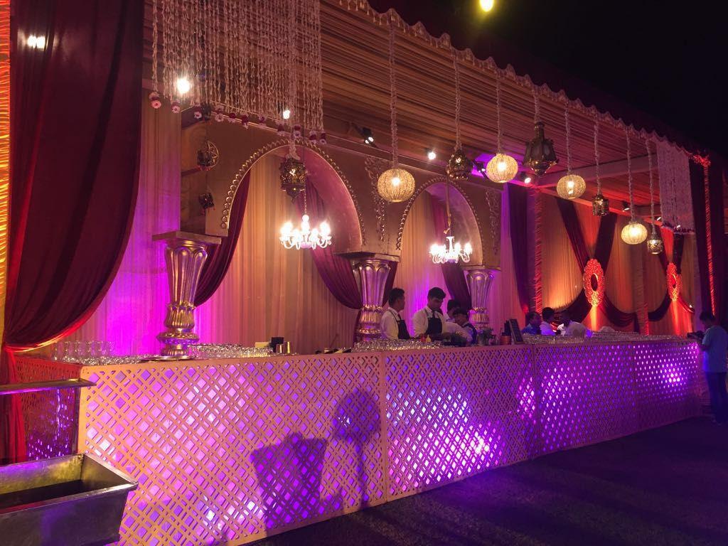 A Spectacular Sufi Night Bar Setup Wedding Bar Wedding