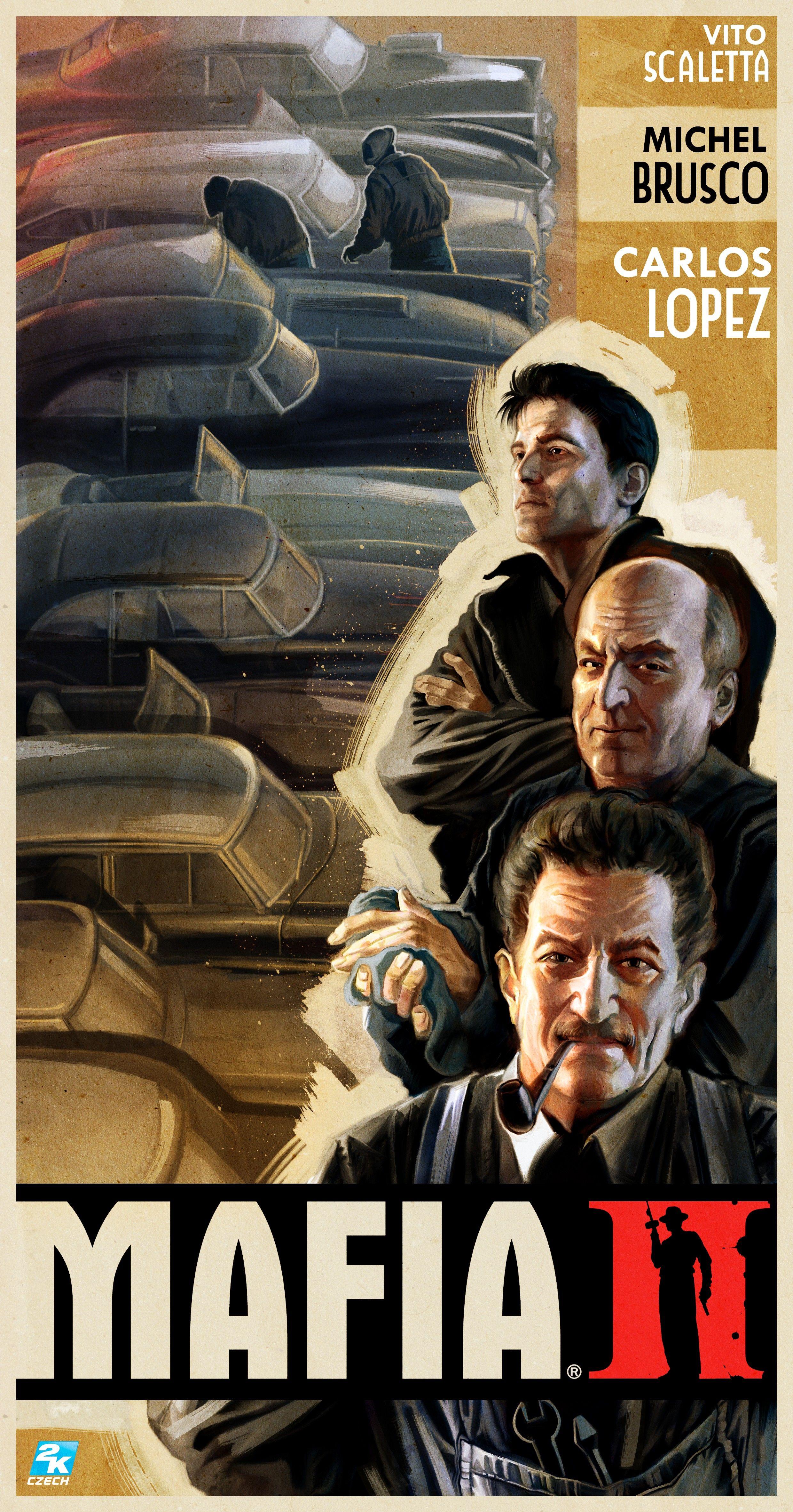 Poster from Mafia II Mafia 2, Mafia, Mafia video game