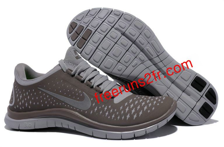 Nike Free 3.0 V4 Femme Chaussures De Course Caf [Chaussures Nike Free Run  1120]