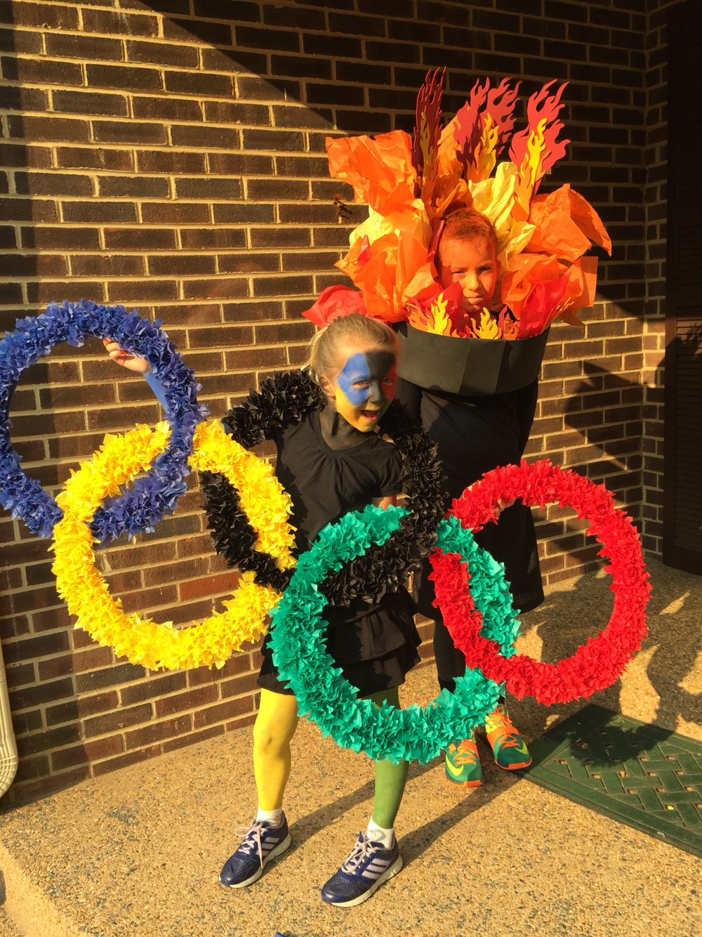 DYI Olympic costumes