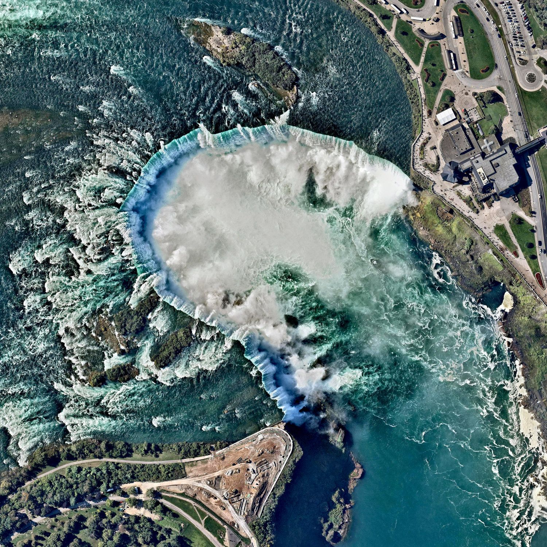 Niagara Falls Canada United States Niagara Falls Est Le Nom