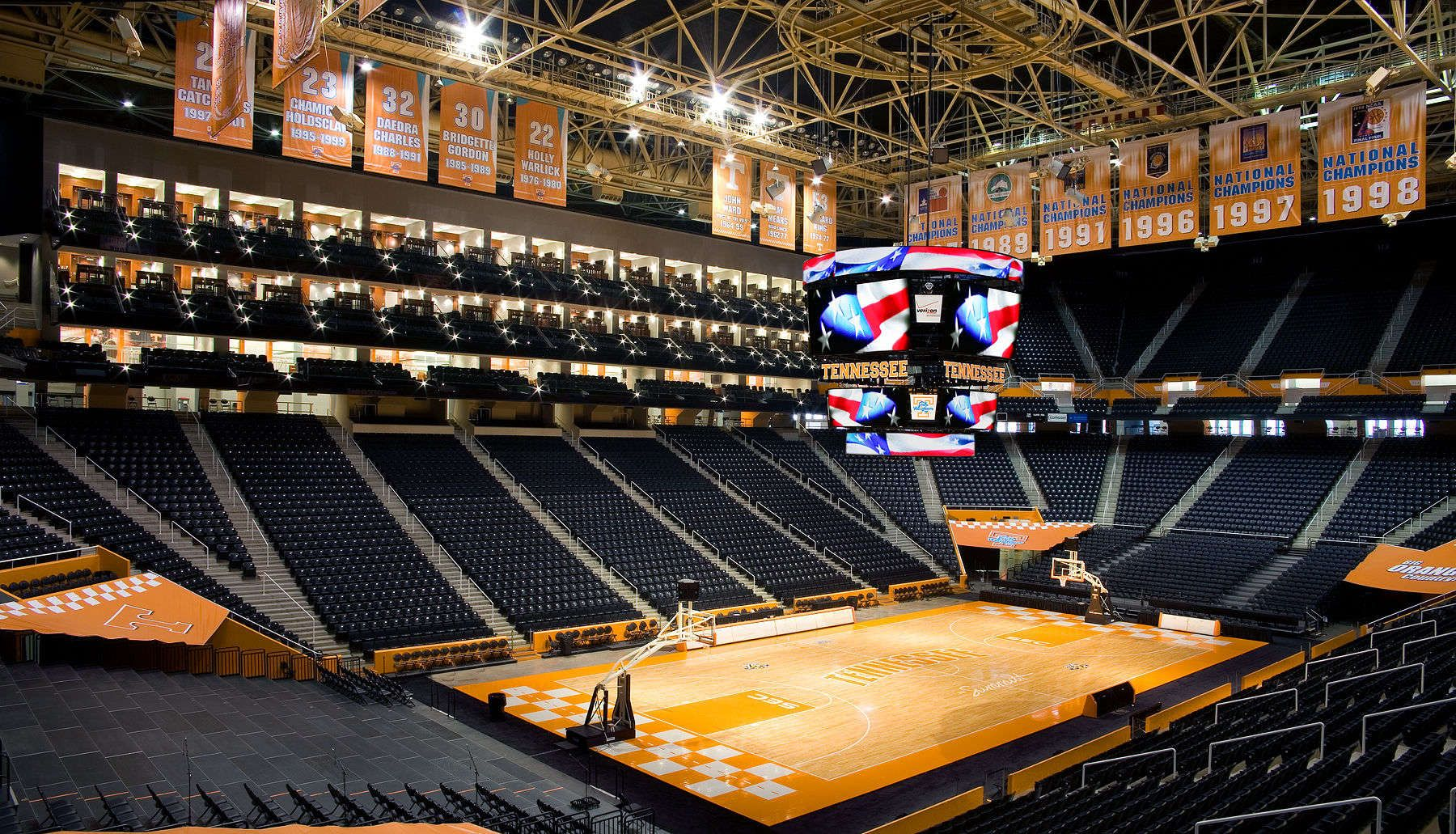 ThompsonBowling Arena, Home of the Tennessee Volunteers
