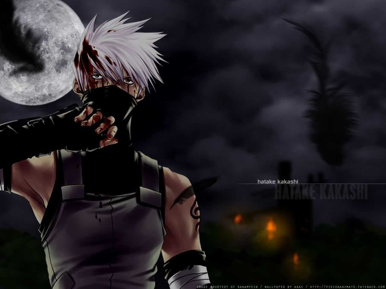 Kakashi Hatake Without Eye Patch Mit Bildern Naruto Kakashi