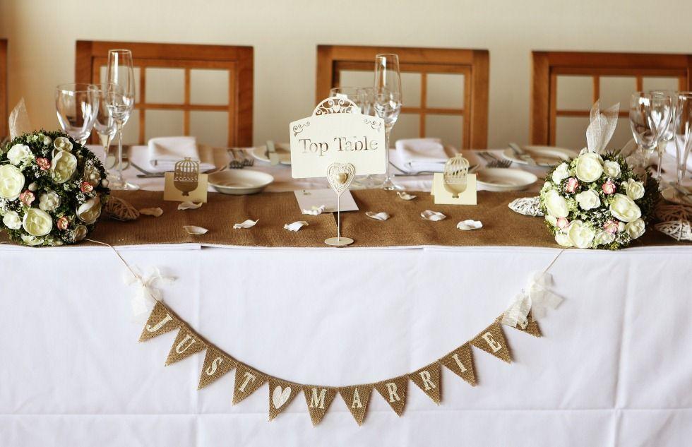top table wedding decor ideas pinterest table. Black Bedroom Furniture Sets. Home Design Ideas