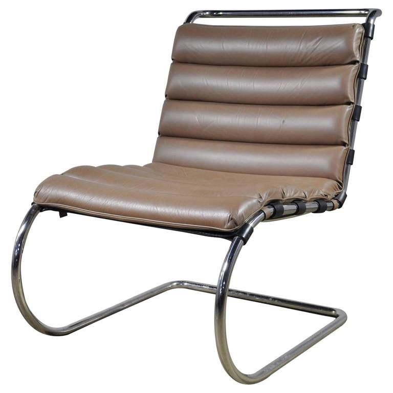 Remarkable Mies Van Der Rohe Mr Lounge Chair Without Arms In 2019 Squirreltailoven Fun Painted Chair Ideas Images Squirreltailovenorg