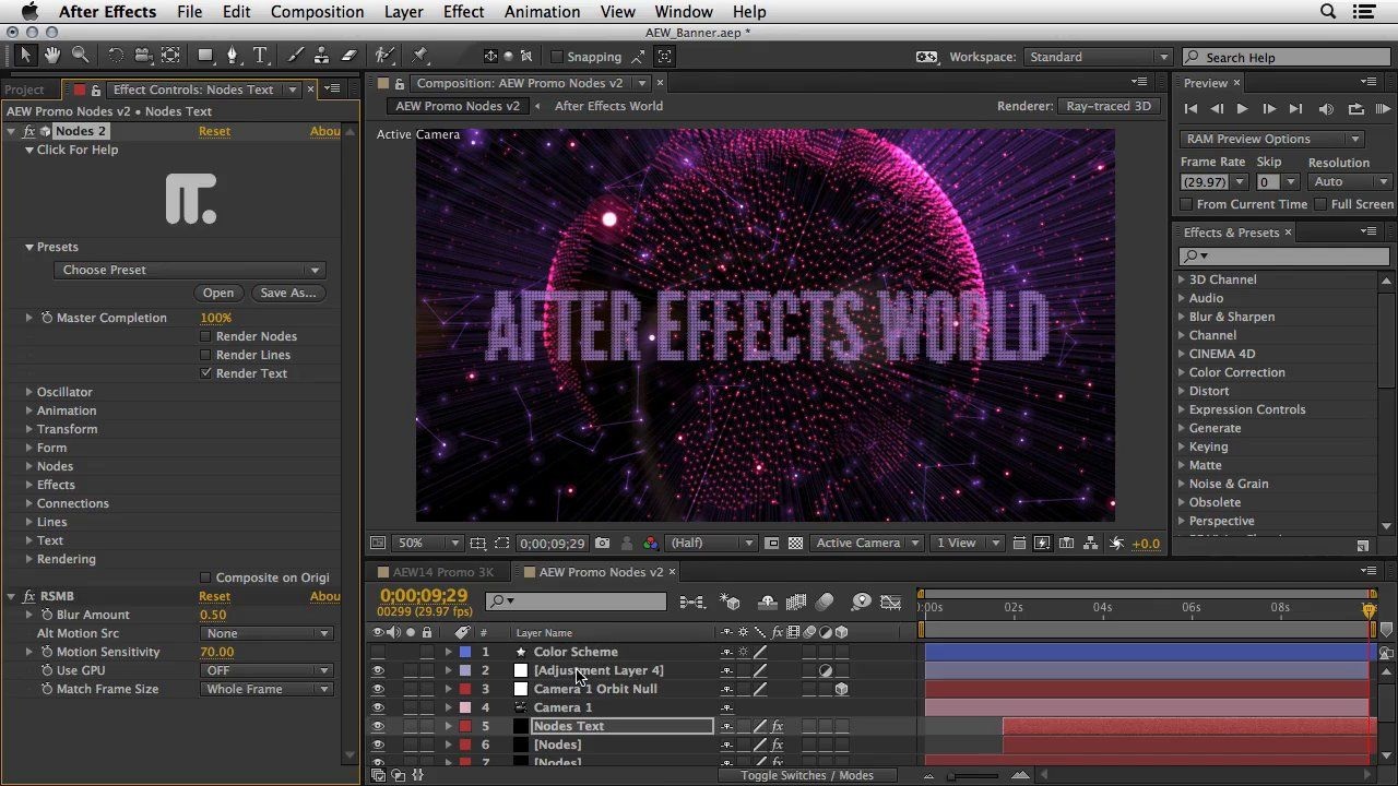Nodes2 Intro. Explore Nodes 2, a plugin for After Effects