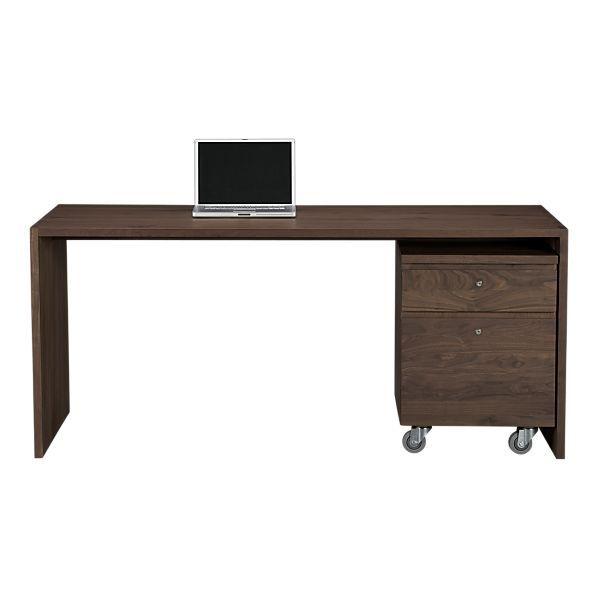 "Walnut 68"" Work Table:  67.75""Wx31.5""Dx29.5""H"