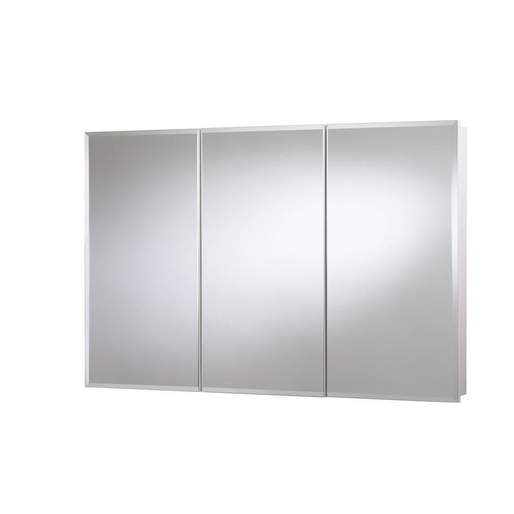 48 Medicine Cabinet Croydex 48 Inw X 30 Inh X 514 Ind Frameless Triview Surface