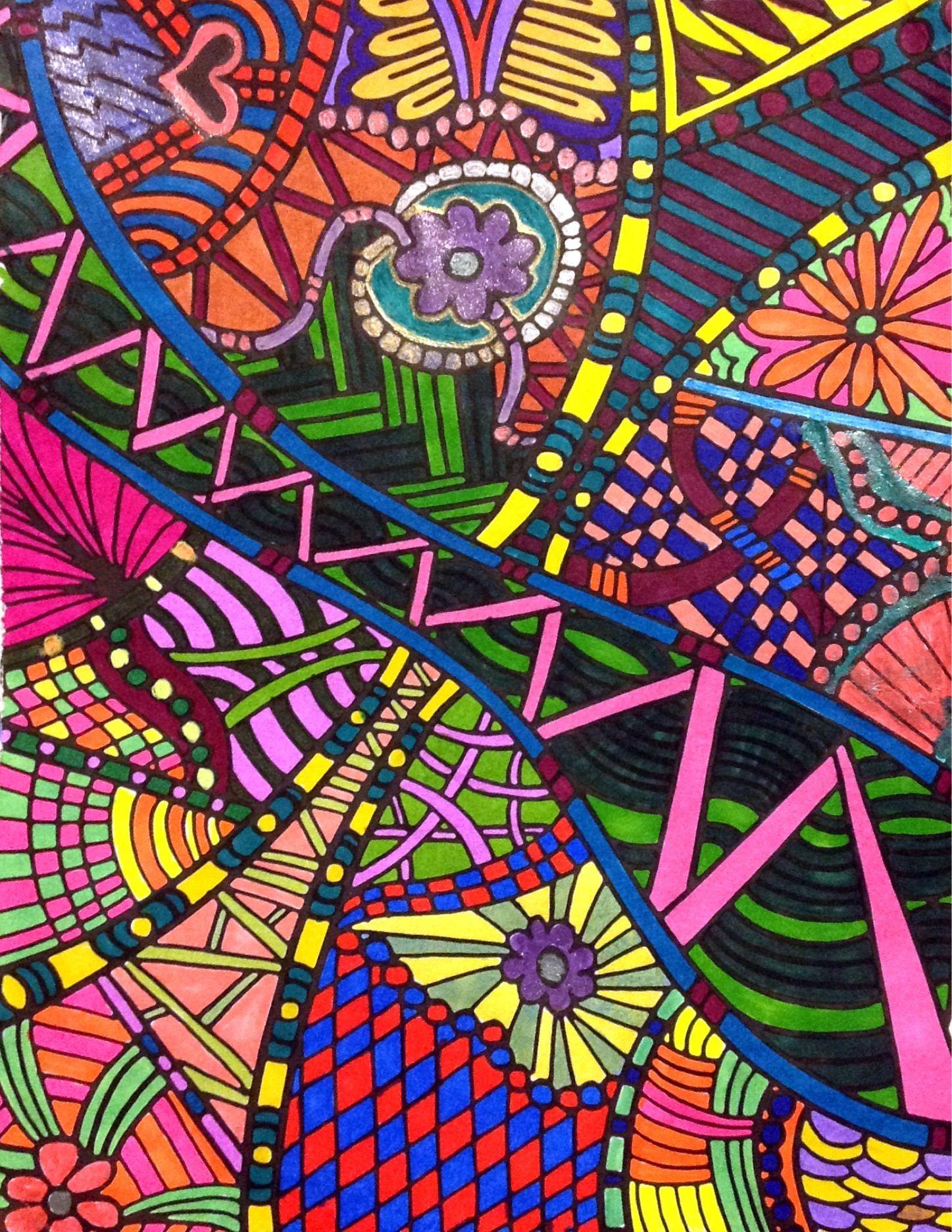 Pin de Robin Taylor en Kaleidoscopia Coloring Books | Pinterest