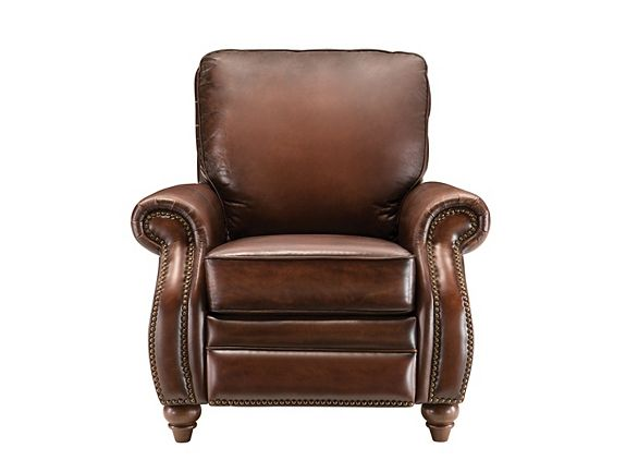 Emery Leather Recliner Recliners Raymour And Flanigan Furniture Mattresses Leather Recliner Recliner Leather Recliner Chair