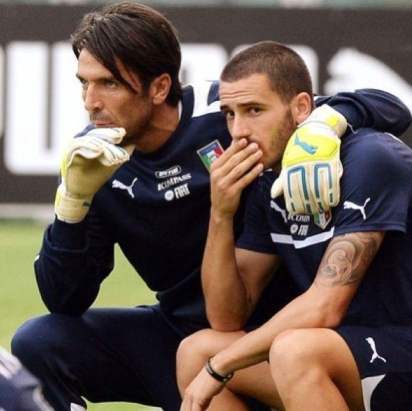 Buffon and Bonucci