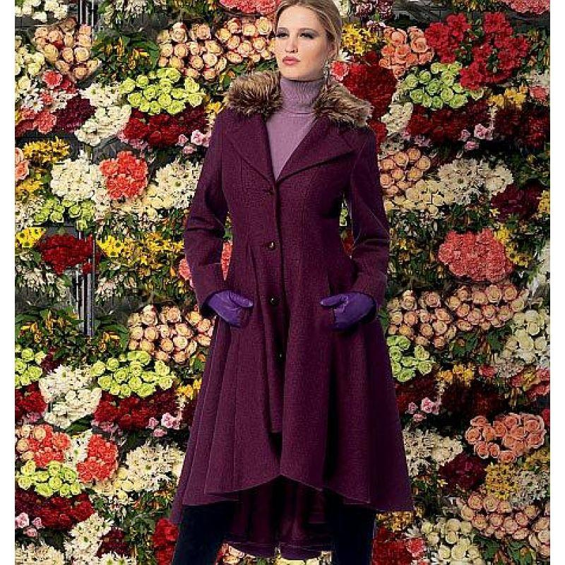 McCalls 6800 Damenkleidmantel Gr. 32-48 | Gesellenstück, Nähen und ...